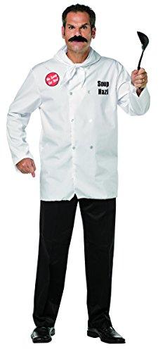 Seinfeld Halloween Costumes (Rasta Imposta Men's Seinfeld Soup Nazi, White, One)