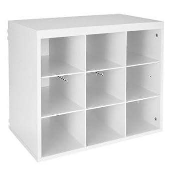 ClosetMaid ShelfTrack Elite 3277 19 3 4 In White 9 Slot Organizer