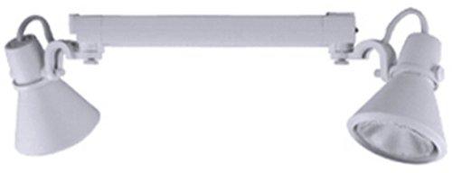Jesco Lighting HMH904P3070-S Contempo 904 Series Metal Halide Track Light Fixture, PAR30, 70 Watts, Silver Finish