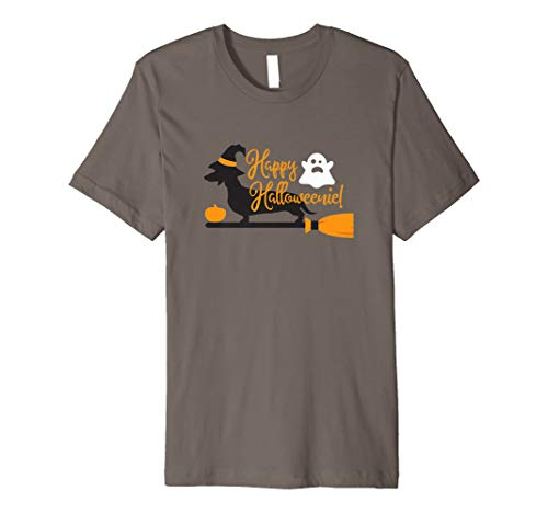 Happy Halloweenie Wiener Dog  Premium T-Shirt]()
