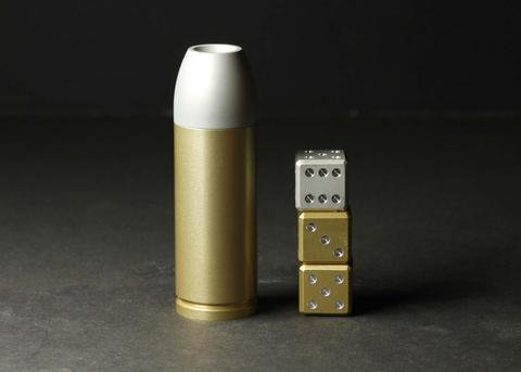Gravity Dice 357 Bullet Set - Fully Loaded by GRAVITY DICE