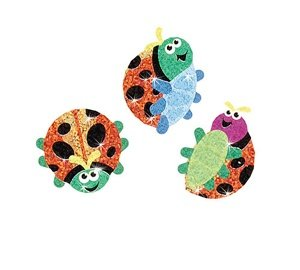 Luminous Ladybugs Stickers (Ladybugs Luminous)
