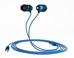 BOCA BOC18 High Definition sound with Deep Bass,Tangle Free In Ear, Noise Isolating Earphones Headphones. For iphone Android & all audio devices