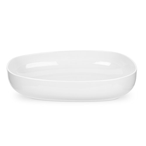 Portmeirion Ambiance Roasting Dish, Pearl White