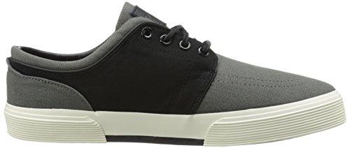 Polo Ralph Lauren Mens Faxon Sk Vlc Sneaker Polo Zwart / Regent Grijs