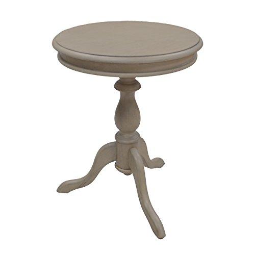 (Carolina Chair & Table 1925-WG Gilda Side Table Weathered Gray)