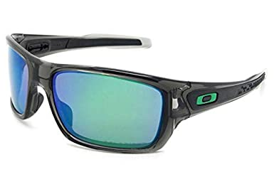 ce139226f Oakley TURBINE OO9263L 926309 Cinza Lente Polarizada Espelhada Verde Jade  Iridium Tam 65: Amazon.com.br: Amazon Moda