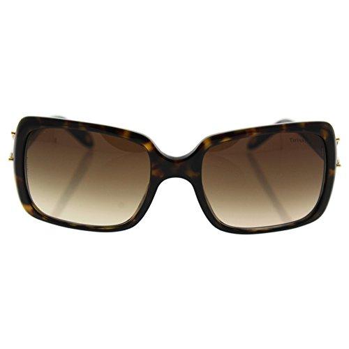 Tiffany Womens Designer Sunglasses TF 4047-B 8081/3B 55mm Havana