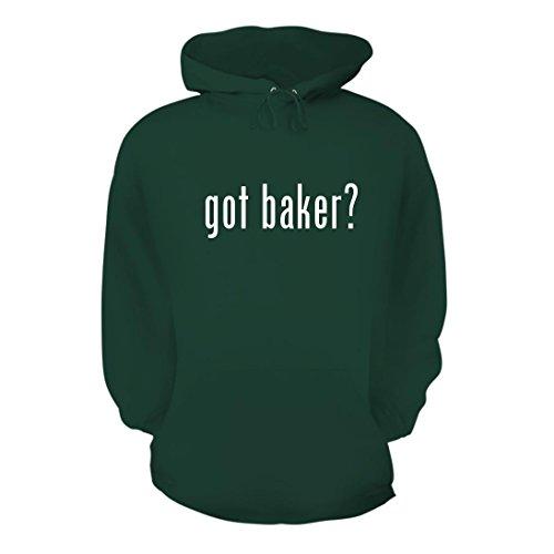 Got Baker    A Nice Mens Hoodie Hooded Sweatshirt  Forest  X Large