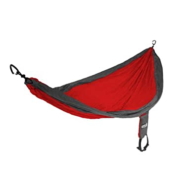 ENO Eagles Nest Outfitters - SingleNest Hammock, Red/Charcoal (FFP)