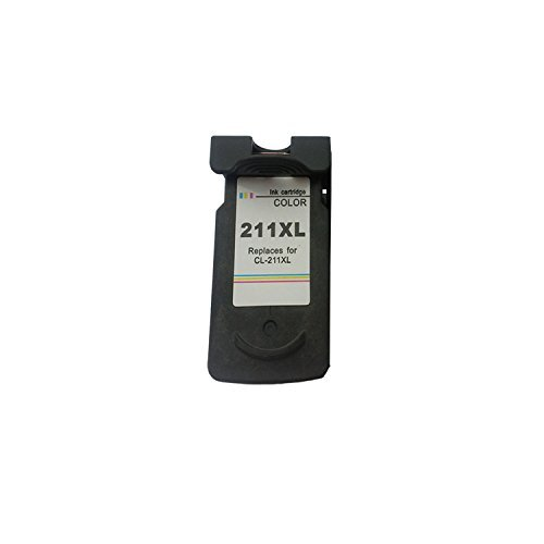 Remanufactured Ink Cartridge Replacement for Canon CL211xl 2973B001 (1 Color 1 Pack)