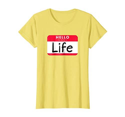 Womens Pun Halloween Costume Shirt - When Life Gives You Lemons Medium Lemon