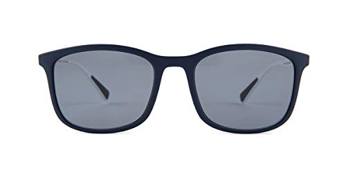Prada Linea Rossa Men's 0PS 01TS Blue Rubber/Grey Gradient/Brown Polarized One Size (Prada Sonnenbrille Unisex)