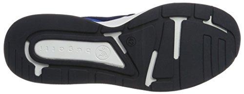 Bugatti Men's Dy02046 Trainers, Black (Black) Blue (Navy 423)