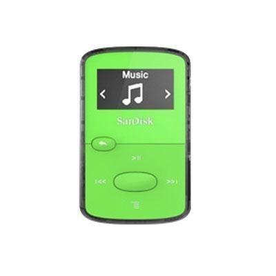 "SANDISK SDMX26-008G-G46G 8GB .96"""" Clip Jam(TM) MP3 Player (Green) Consumer electronic"