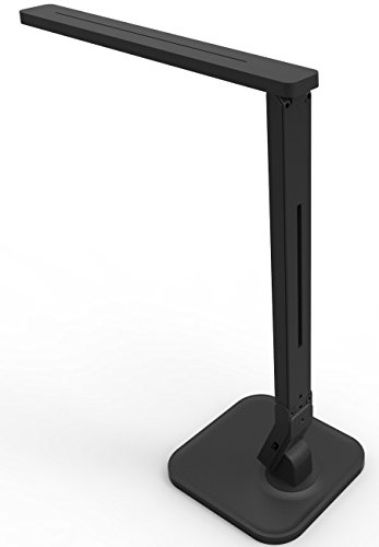 Lampat-LED-Desk-Lamp-Dimmable-LED-Table-Lamp-Black-4-Lighting-Modes-5-Level-Dimmer-Touch-Sensitive-Control-Panel-1-Hour-Auto-Timer-5V2A-USB-Charging-Port