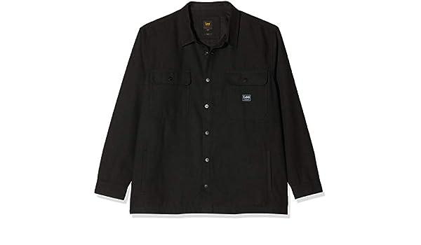 Lee Workwear Overshirt Plus Size Camisa para Hombre: Amazon.es: Ropa y accesorios