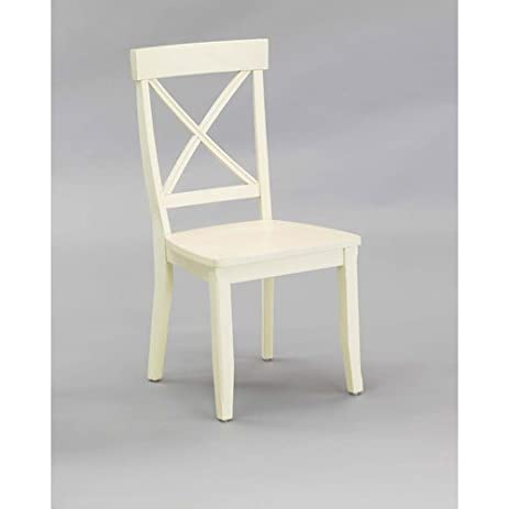 Home Styles 5177-802 Dining Chair, Antique White Finish, Set of 2 - Amazon.com: Home Styles 5177-802 Dining Chair, Antique White