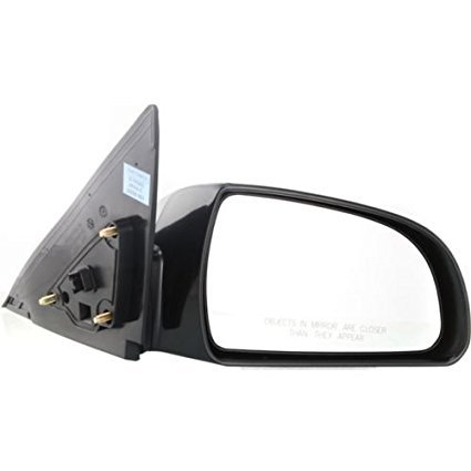 Make Auto Parts Manufacturing - SONATA 2007-2010 Mirror Right Hand Power Heated Non-Folding Paint to Match - (Auto Parts Mirrors)