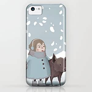 Society6 - Pig In Snow iPhone & iPod Case by Vera Johansen