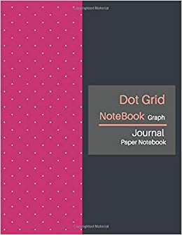 Dot Grid Notebook: Dotted Notebooks Paper Large (8.5 x 11 inches), A4 100 Pages - Bullet Journal - Dot Grid Journal Graphing Pad - Drawing & Note Taking (Pink Peacock Cover)