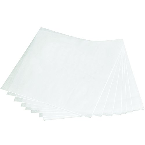 BOX USA BBPS121240W  Butcher Paper Sheets, 12'' x 12'', White (Pack of 3750) by BOX USA