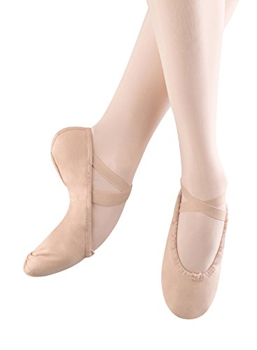 Bloch Dance Girl's Pump Ballet Flat (Toddler/Little Kid),Pink,12 A US Little Kid ()