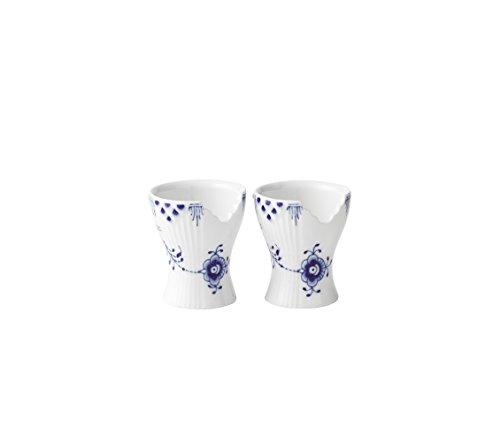 - Royal Copenhagen Blue Elements Egg Cups, Set of 2