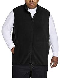 Amazon Essentials Chaleco polar con cierre completa grande y alto Chaleco de lana para Hombre