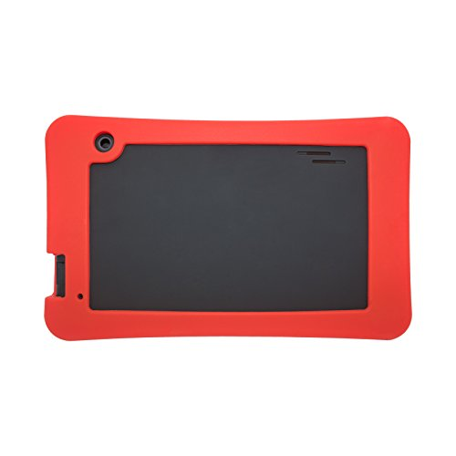 Transwon Haehne 7 Inches Tablet PC Case, Compatible with RCA Voyager III 7 Inch Tablet, Astro Tab A750, SmarTab ST7150, Yuntab T7, DigiLand DL7006, Digiland DL721-RB/DL718M/Dl701q - Red