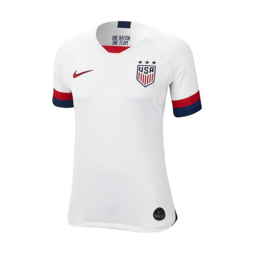 Nike USA 2019 Womens Home Jersey (White, Womens Small) - Nike Team Jersey