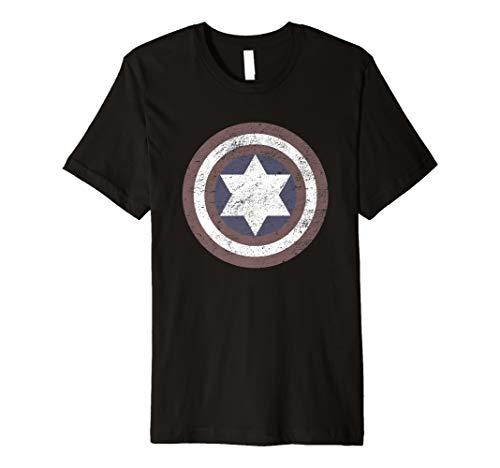 - Captain Jew Israel Funny Jewish T-Shirt