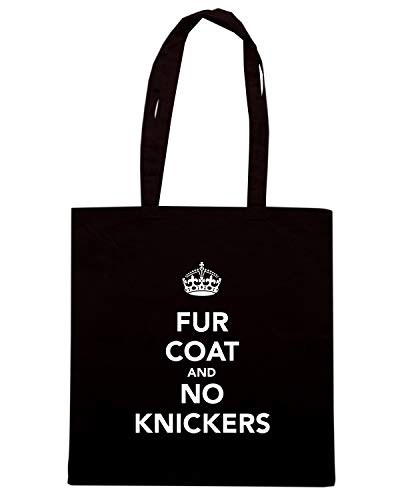 Coat Tkc3784 No Fur Speed Shopper Nera Borsa Knickers And Shirt qwPvp