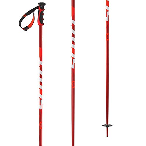 Scott Punisher Ski Poles Red 52in