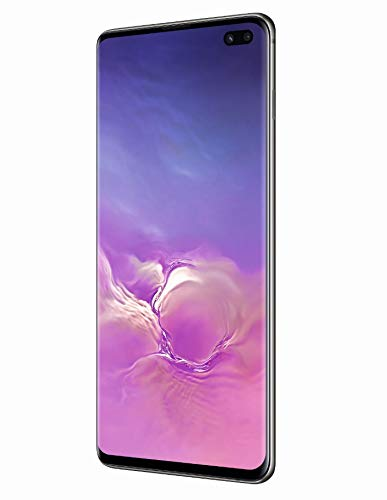 Samsung Galaxy S10+ Plus 1TB / 12GB RAM SM-G975F/DS Hybrid/Dual-SIM (GSM Only, No CDMA) Factory Unlocked 4G/LTE Smartphone - International Version No Warranty (Ceramic Black)