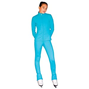 ChloeNoel PS735 Solid Over The Hill Elite Figure Skating Pants with Front Pocket