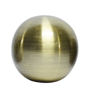 Urbanest Ball Lamp Finial for Lamp Shades, 1-1/4-inch Diameter (Antique Brass) ()