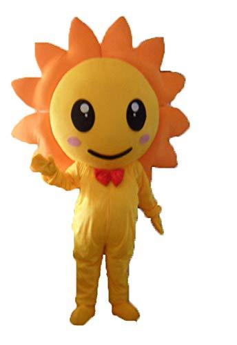 YUJUAN Sun Flower Cosplay Mascot Costume Performance Prop (M(160-175CM))