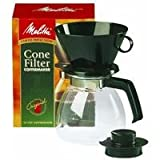 non electric coffee maker - Melitta Cone Filter Coffeemaker 10 Cup, 1-Count
