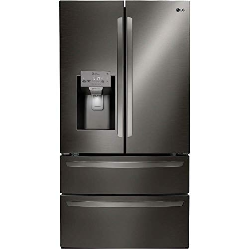 LG LMXS28626D 28 cu.ft. 4-Door French Door Refrigerator Black Stainless Steel