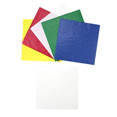(Kite Paper Squares, 6.25 inches, Primary Bright)