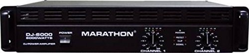 Amazon.com: Marathon DJ-6000 DJ Series Amplifier 900@8 Ohms - 1800@4 Ohms - Up To 6000@8Ohm BrIDge: Musical Instruments