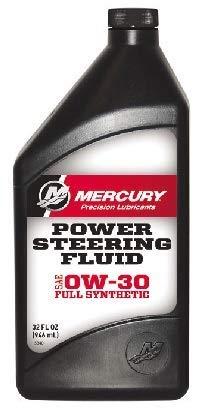 Mercury/Quicksilver 92-858077K01 Synthetic 0W30 Power Trim & Steering Fluid 32 OZ. Qty: 1 ()
