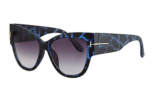 Personality Cateye Sunglasses Trendy Big Frame - Audrey Smith Sunglasses