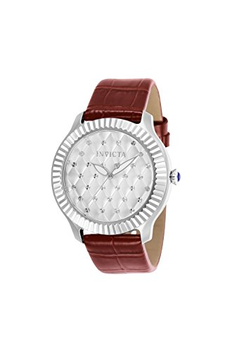 quilted dial watch - 1