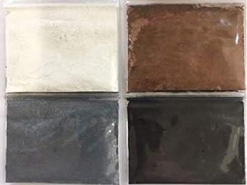 EZ Tinte 4 Paquete Negro Marrón Blanco Gris de epoxi teñido y ...