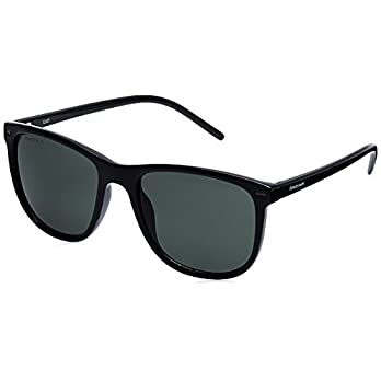 Fastrack UV Protected Square Men's Sunglasses – (P365GR2|53|Green Color)