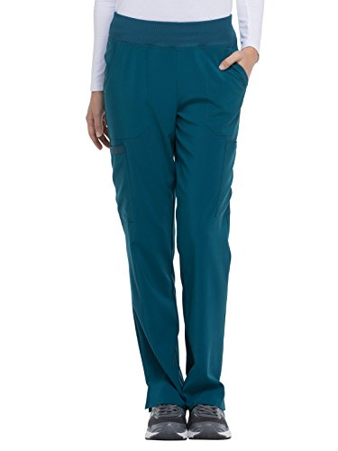 - Women's EDS Essentials Natural Rise Tapered Leg Pull-On Scrub Pants