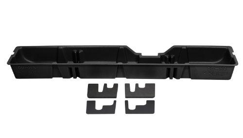 Super Duty Under Seat Storage - DU-HA Under Seat Storage Fits 00-16 Ford F-250 thru F-550 Supercab, Black, Part #20031