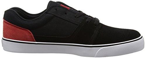 DC Shoes Tonik M, Zapatillas de Skateboarding para Hombre Negro (Black / Red / White)